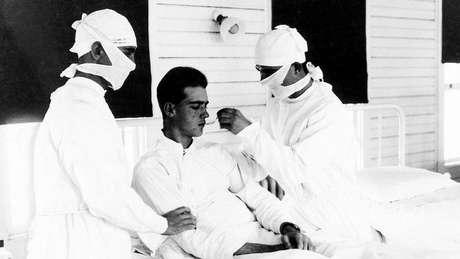 Problemas cerebrais parecidos foram observados depois da gripe espanhola
