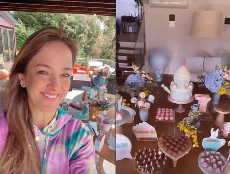 Ticiane Pinheiro mostra detalhes da festa de aniversário da filha Manuella
