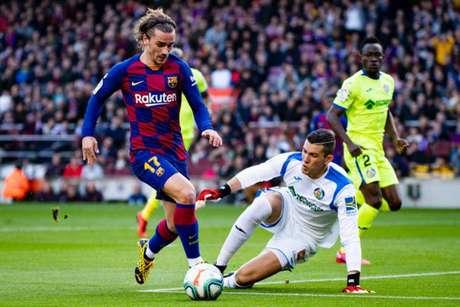 Aos 29 anos, Griezmannjá participou de 35 partidas e marcou nove gols na La Liga nesta temporada. Pela  Champions, foram sete jogos e dois tentos (Reprodução / Twitter)