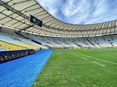 Maracanã foi o palco da final do Campeonato Carioca (Foto: Divulgação/Twitter Flamengo)