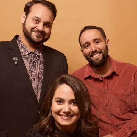 Kareem Tabsch, Cristina Costantini e Alex Fumero, que produziram o documentário