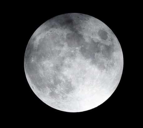 Vista da lua na Cidade do México, no México