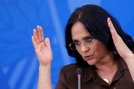 Ministra Damares Alves 13/04/2020 REUTERS/Adriano Machado