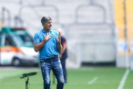 Renato Portaluppi voltou para Porto Alegre após um período de afastamento médico (Foto: Divulgação/Lucas Uebel)