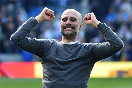 Manchester City ainda sonha com o título inédito nesta temporada (Foto: AFP)