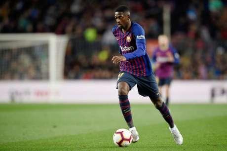 Dembélé tem apenas 74 jogos em três anos de Barcelona (Foto: AFP)