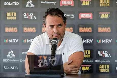 """Alexandre Mattos pede """"calma"""" com a euforia criada em torno do Galo-(Bruno Cantini/Atlético-MG)"""