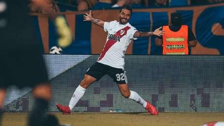 O River Plate não renovou o contrato de Ignacio Scocco e o atacante não faz mais parte da equipe (Foto: Divulgação/River Plate)