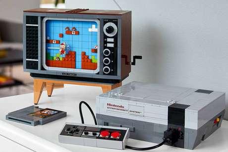 Lego lança kit da Nintendo