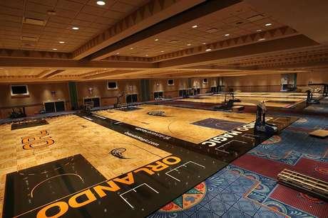 NBA criou uma bolha em um complexo da Disney, na Flórida