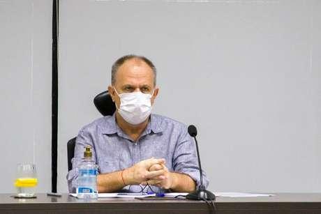 O governador de Sergipe, Belivaldo Chagas (PSD), testou positivo para o novo coronavírus