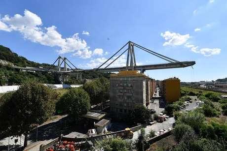 Desabamento da Ponte Morandi matou 43 pessoas em 14 de agosto