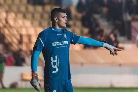 Brazão está emprestado pela Inter ao Albacete, da Espanha (Foto: Divulgação/Albacete)