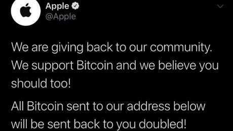 Empresas como a Apple também tiveram contas atacadas