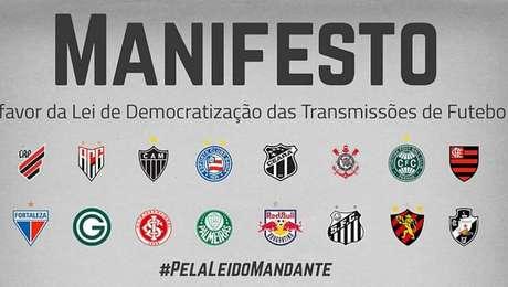 Dos 20 times da Série A, 16 apoiam a MP do presidente Bolsonaro
