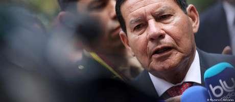 """""""Seremos avaliados pela eficácia de nossas ações e não pela nobreza de nossas intenções"""", disse Mourão"""
