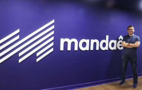 O CEO e fundador da Mandaê, Marcelo Fujimoto