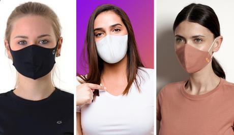 Máscara da Líquido, da Malwee e da Lupo com ação antivírus (Divulgação)
