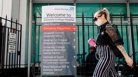 University College Hospital em Londres, onde as mutações estão sendo estudadas