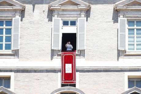 Papa Francisco voltou a fazer pedido por paz durante a pandemia