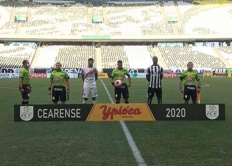 Felipe Silva marcou o gol que garantiu a classificação do Ceará para a final do Cearense (Foto: Divulgação/Ferroviário)