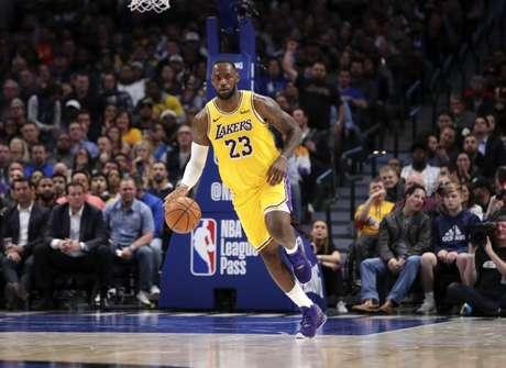 Ala Lebron James, do Los Angeles Lakers  01/11/2019 Kevin Jairaj-USA TODAY Sports