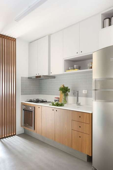 16. Decore sua cozinha com detalhes práticos e funcionais – Via: Pinterest