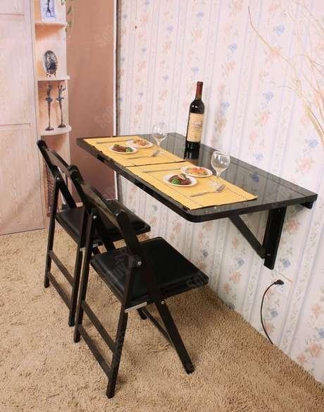 52. Cozinha pequena dobrável e prática – Via: Pinterest