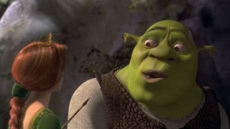 O filme do Shrek foi acelerado para se tornar uma figurinha de poucos minutos
