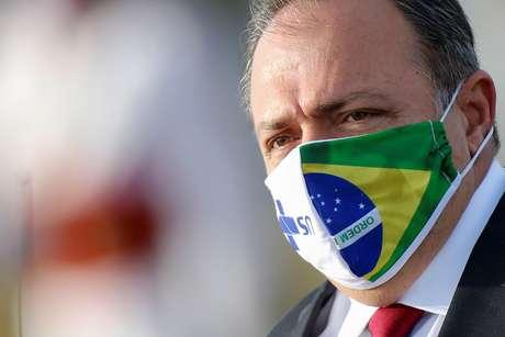 Ministro interino da Saúde, general Eduardo Pazuello, em Brasília 09/06/2020 REUTERS/Adriano Machado