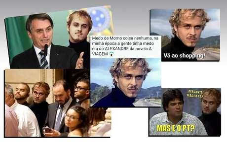O vilão fantasmagórico Alexandre aparece em memes e montagens divertidos na internet