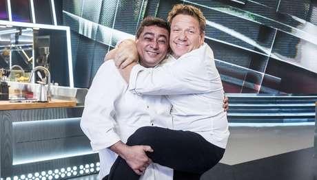 Divertidos, Batista e Claude Troisgros acrescentam tempero à competição com receitas de alta gastronomia