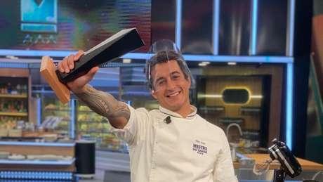 O campeão do Mestre do Sabor Dario Costa: uma celebração de vitória sem o mesmo gosto de antes