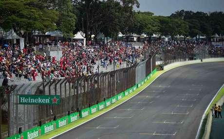 A etapa do Brasil é realizada em Interlagos desde 1990 (Foto: Djalma Vassão/Gazeta Press)