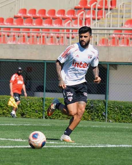 Liziero será titular do São Paulo neste domingo - FOTO: Divulgação/São Paulo FC
