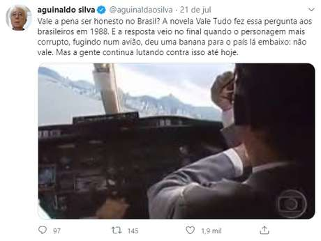 Dispensado pela Globo este ano, Aguinaldo Silva é um dos autores mais talentosos e conscientes do País