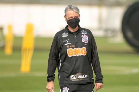 """Tiago Nunes buscará apenas sua segunda vitória diante de times """"menores"""" (Foto: Rodrigo Coca/Ag. Corinthians)"""