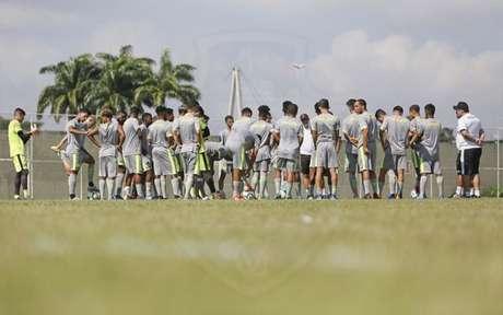 Juniores passarão por testes físicos em São Januário e seguirão treinos em Caxias (Foto: Rafael Ribeiro / Vasco)