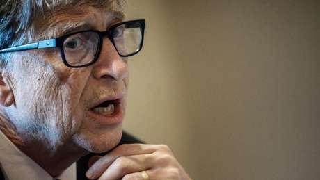 Bill Gates é um alvo frequente das campanhas de desinformação