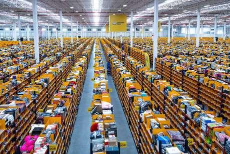 Centro de distribuiçãodo Mercado Livre na Argentina