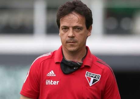 Fernando Diniz escalou reservas e viu o São Paulo vencer na Vila - FOTO: Rubens Chiri/saopaulofc.net