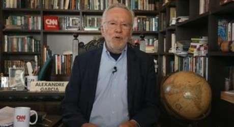 Alexandre Garcia, novo reforço da CNN Brasil