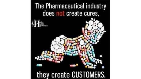 """""""A indústria farmacêutica não cria curas, cria CLIENTES"""", diz este meme"""