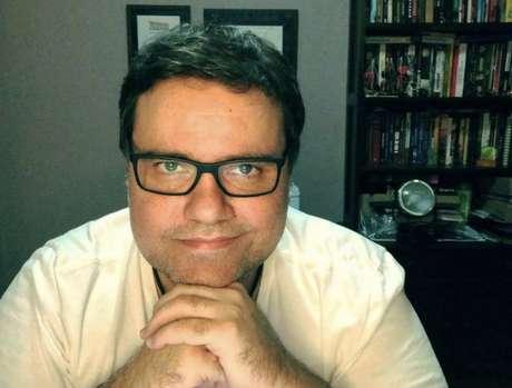 Rodrigo Rodrigues, apresentador da TV Globo