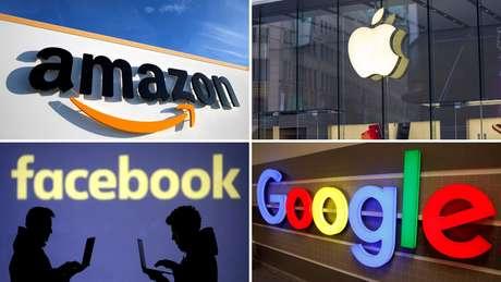 De acordo com o documento, Amazon, Apple, Facebook e Google, cada uma à sua maneira, aproveitaram-se de seu tamanho e poder para minar o crescimento de empresas menores e potenciais concorrentes