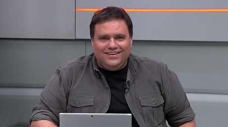 Rodrigo Rodrigues fazia jornalismo com leveza e comicidade