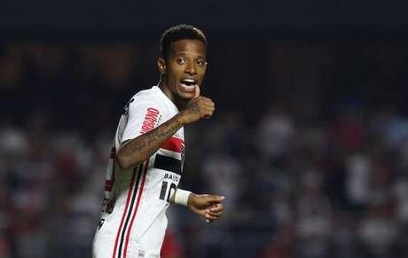 Tchê Tchê marcou um gol pelo São Paulo: contra o Flamengo, em 2019 (Foto: Rubens Chiri/saopaulofc.net)