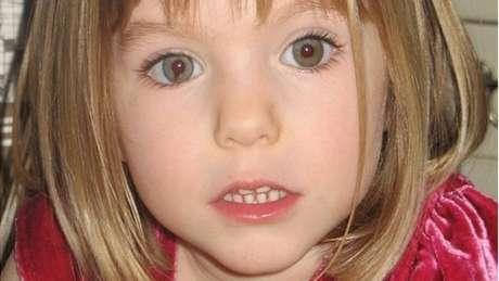 Madeleine McCann tinha três anos quando desapareceu em 2007