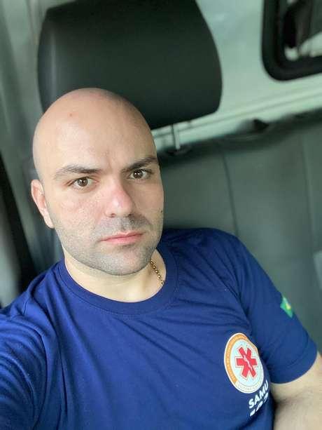 Dyego Waldek ainda não recebeu o salário pelos dois últimos meses trabalhados no Samu do Rio