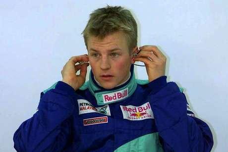 Em setembro de 2000, Räikkönen testou um F1 pela primeira vez